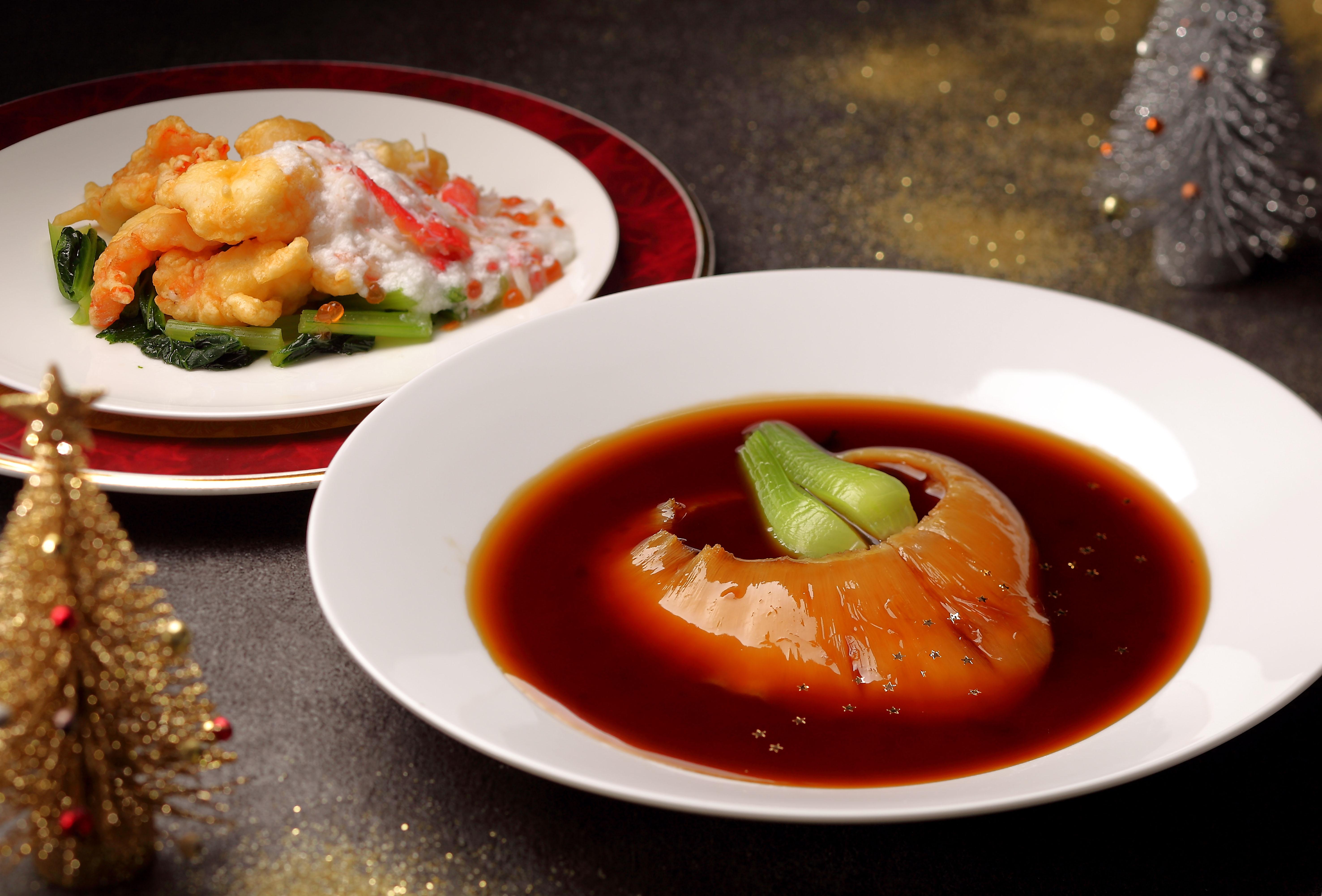 中国料理「桃花春」クリスマスディナー2019 ~聖誕美食~