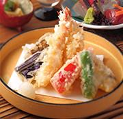 日本料理「石庭」 ご予約限定「旬の栞」+秋の揚げたて天ぷら食べ放題!