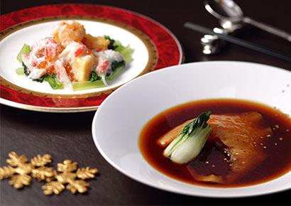 中国料理「桃花春」クリスマスディナー2018 ~聖誕美食~