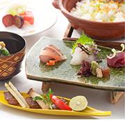 日本料理「石庭」 アニバーサリーペア会席 2018