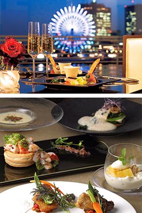 大阪のサプライズプロポーズ 神戸メリケンパークオリエンタルホテル ラウンジ&ダイニングピア