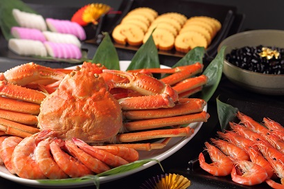 新春プレミアムブッフェ ~おせちと蟹が食べ放題~