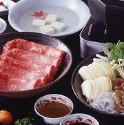 日本料理 石庭のしゃぶしゃぶ