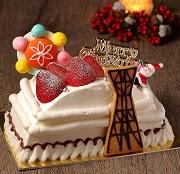 聖夜を彩る、特製クリスマスケーキ