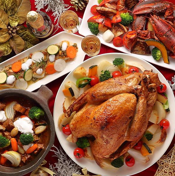 クリスマス スペシャルディナーブッフェ