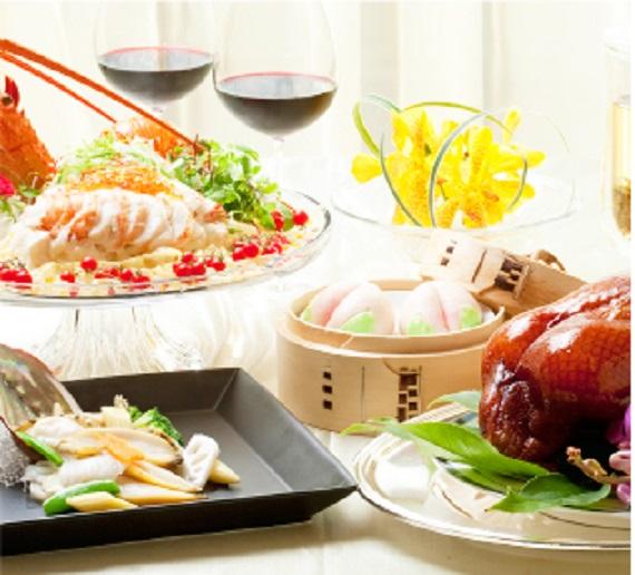 中国料理「桃花春」 アニバーサリー ペアディナー2018