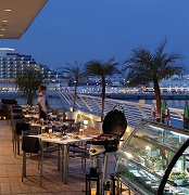 船旅のようなリゾートタイム 神戸シーサイドビアテラス
