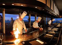 【鉄板焼ディナー】最上階ステーキハウスで贅沢なひとときを(夕朝食付き)
